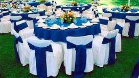 sillas, tablones, samovares,cristaleria,crispeteras