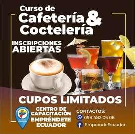 CURSO DE CAFETERÍA & COCTELERÍA QUITO