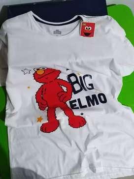 ¡Sale! Camiseta Sésamo Workshop. Big Elmo.