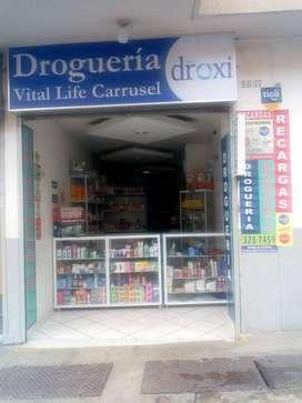 Droguería afiliada Droxy