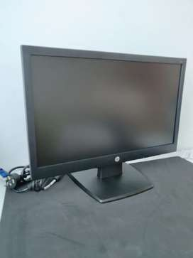 Monitor Hp V194 Led 18.5 negro Nuevo