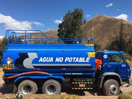 ALQUILO CAMION CISTERNA AGUA 5000 Gls.