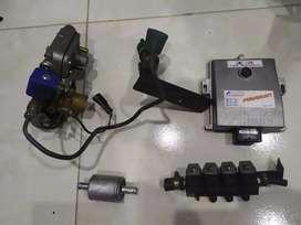Instalación de gas 5 generación para vehículo en excelente estado