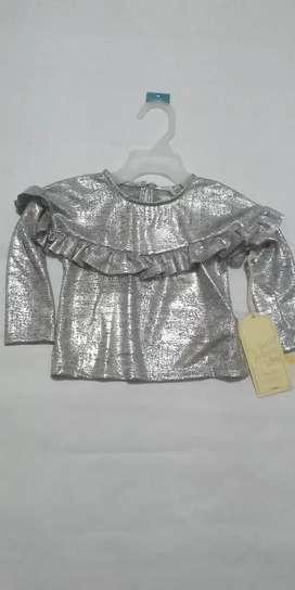 Blusa bebé niña talla 6 Meses