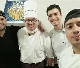 Chef, cocinero, parrillero, pizzero