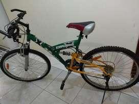 Bicicleta Rod 26 con Suspensión 21 Veloc