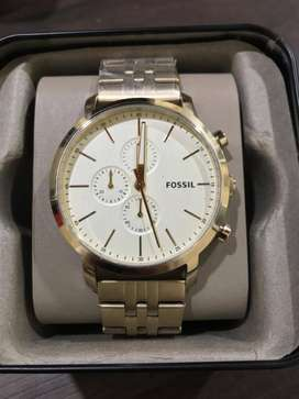 Reloj Fossil Luther Chronograph BQ2435 Nuevo Para Hombre