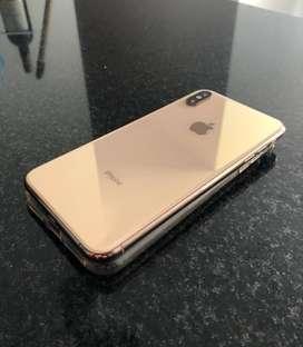 Iphone XS Max dorado de 64GB