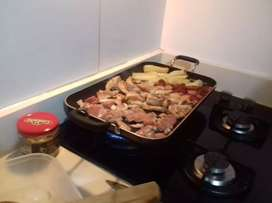 Cocinera para restaurante