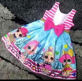 Vestidos Lol para Niñas Baby Bog
