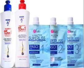 Alicer Superliss Shary con Shampoo y Crema Capilar 15 en 1 MyE