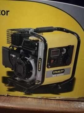 Generador Inverter Marca Stanley 2000 W.