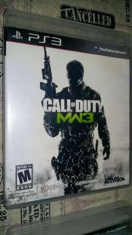 Juego PS3 Call of MW3