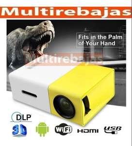 Excelente Mini proyector Led Portatil