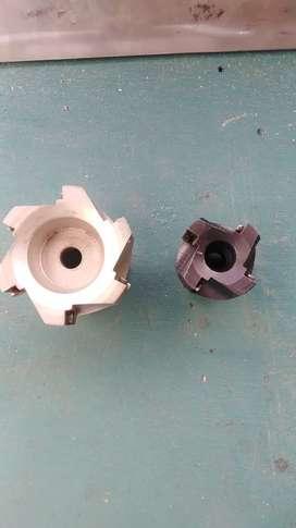 Planeadoras para fresadora de 80mm y 50mm nuevas vencambio