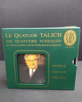 LE QUATOUR TALICH Six Quatour Tcheques DVORAK - JANACEK - SMETANA 3 CD's