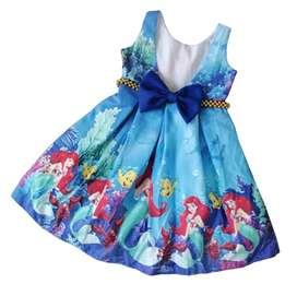 Vestido Sirenita Escote en V