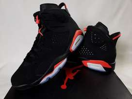 Jordan Retro 6 Black Infrared