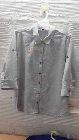 Supervisora confección, camisa y blusa