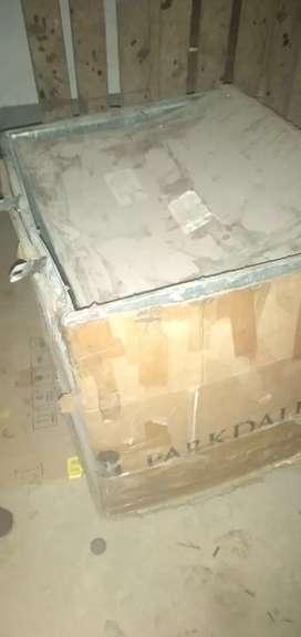 Caja en lámina de acero