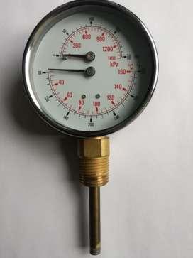 Medidor de Presion y Temperatura