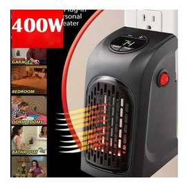 Calentador Eléctrico Portátil Hogar Ambientes Ventilador + obsequio