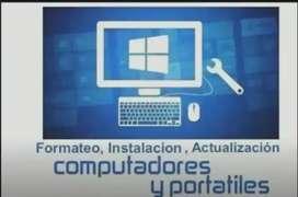 Técnico de Computadoras -Especialista en informatica