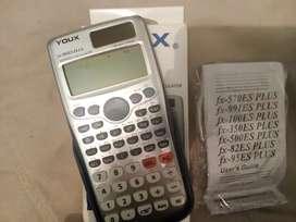 Calculadora científica para estudio en colegio y universidad