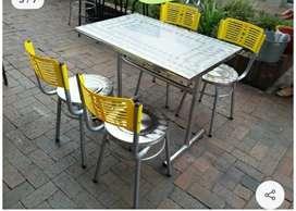 Vendo sillas y mesas para negocio restaurante bar cafetería frutería heladería sillas para barra bar butacos