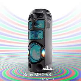 Equipo de Sonido SONY HDMI/Bluetooth/karaoke MHC-V81D