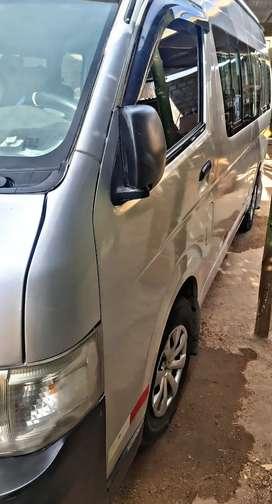 Combi Toyota Haice Buffalo  5l