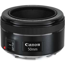 Lente CANON 50mm F1.8 para camara T3 T3i T5 T5i T6 T6i T7i 80D 90D 77D etc