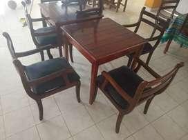 Mesas de comedor con sillas