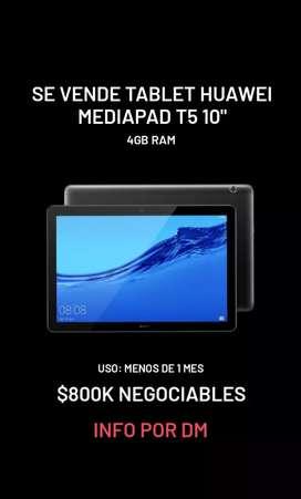 Se vende tablet Huawei