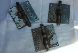 Bisagra Munición Atornillar Lote 3. Madera/hierro 100x100mm