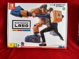 Nintendo Labo Kit Robot Toycon 2 Nuevo