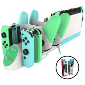 Ipega Pg-9187 Base Carga 6 En 1 Nintendo Switch
