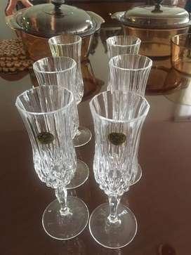 Copas champaña