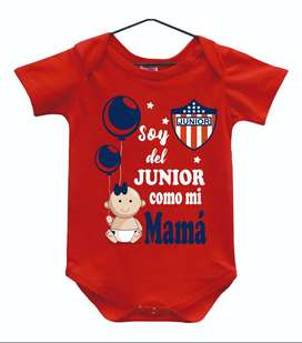 bodys  de junior personalizados