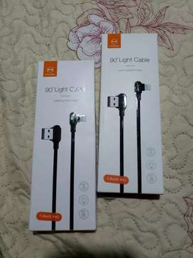 Cable Lightning 90 grados para iPhone Mcdodo