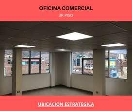 OFICINA ESPACIOSA CENTRO HUANCAYO, LUGAR CENTRICO ILUMINACION CONSULTORIO MEDICOS 3 er piso