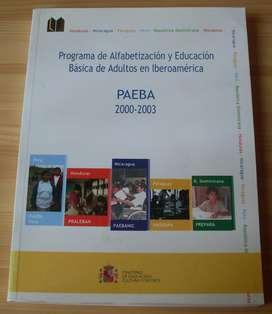 Libro Programa Alfabetizacion y Educacion