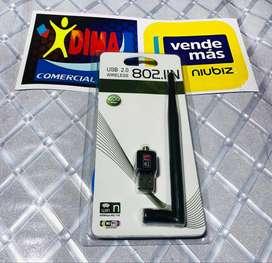 USB WIFI 600MBPS PARA PC O LAPTOP