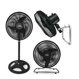 Ventilador Kalley 10 3 en 1 3 velocidades