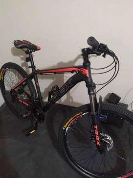 Bicicleta aluminio TreX Veil 26 nueva
