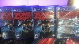 ZOMBIE ARMY 4 DEAD WAR PS4 SELLADO STOCK