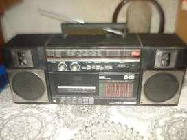 Radiograbador National C36f Exc.sonido Funciona No Envio