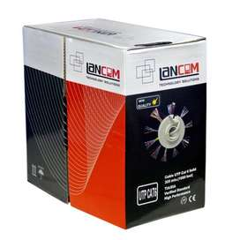 Cable Red Utp Cat. 5e Lancom Caja De 305 M Regalo 2 Fundas, Delivery Todo Lima, Envíos a todo el Perú