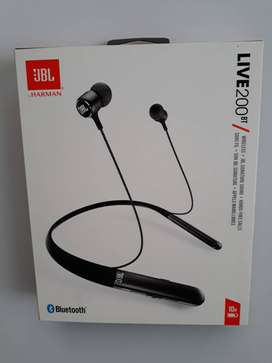Audifono Jbl Live 200bt - Audifonos In Ear Inalámbricos Bluetooth