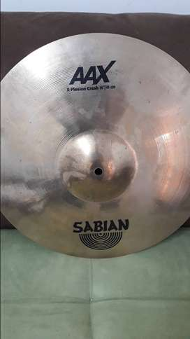 Vendo platillo  Sabian AAX crash 16
